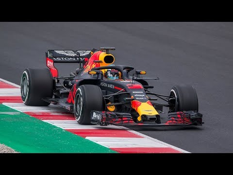 red bull rb14 f1 test days 2018 youtube. Black Bedroom Furniture Sets. Home Design Ideas