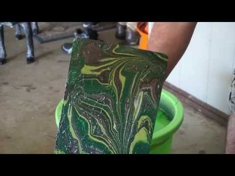 Spray Paint Hydro Dipping  for Beginners