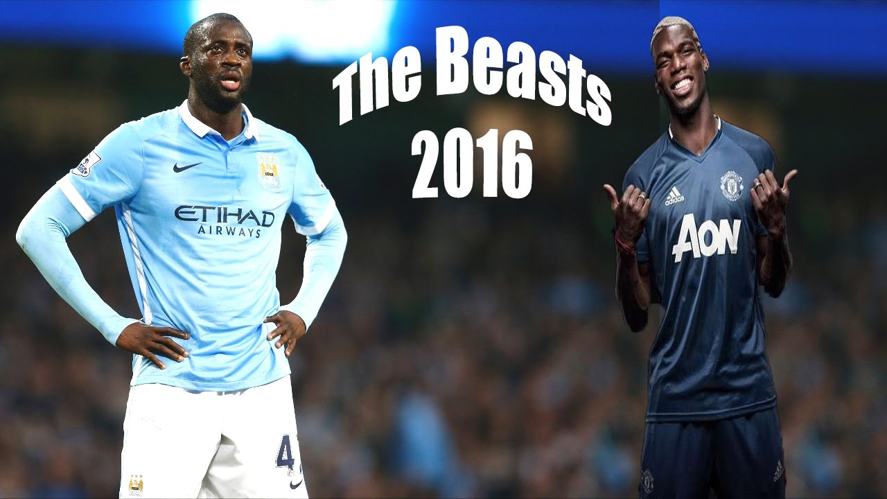 Paul Pogba & Yaya Toure ○ The Beasts ○ Skills and Goals ○ 2016