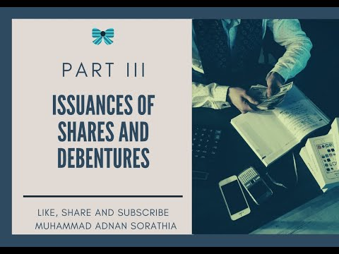 Company Accounts- Issuance Of Shares And Debentures LectureIII Urdu/Hindi By Mohammad Adnan Sorathia