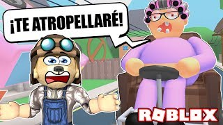 MY GREAT GetS ME AGAIN and wants to RUN me! 💥 - Escape Grandma's House - ROBLOX
