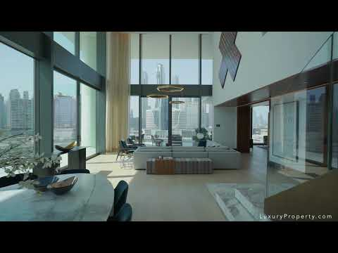 $11,000,000 Dubai Waterfront Penthouse Vlog