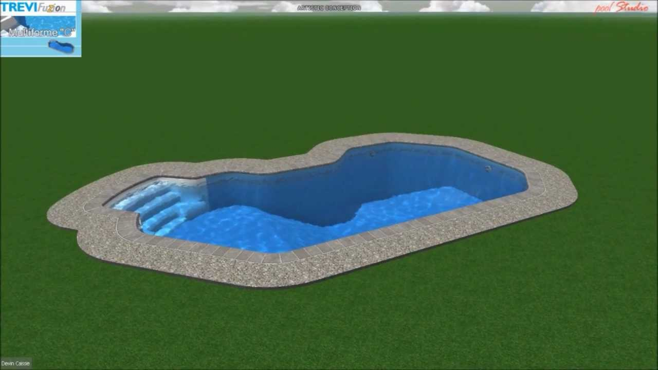 Piscine tr vi fuzion multiforme c youtube for Piscine trevi