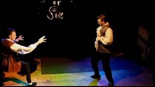 """Tricky Ricky & Oliver Easy - Boylesque performance: """"Seduction With A Vampire"""""""