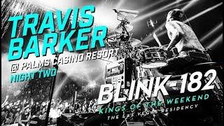 Travis Barker ❰Blink-182❱ @ Pearl Concert Theater | Palms Casino Resort | Drum-Cam