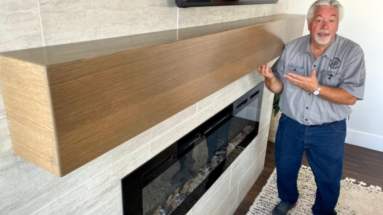 Building a Large Box Beam Mantel Is Easier Than You Think