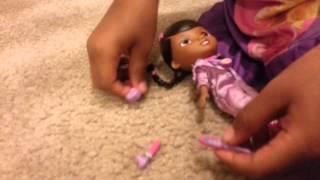Doc McStuffins Fixes Barbie Doll's OUCHIE Thumbnail
