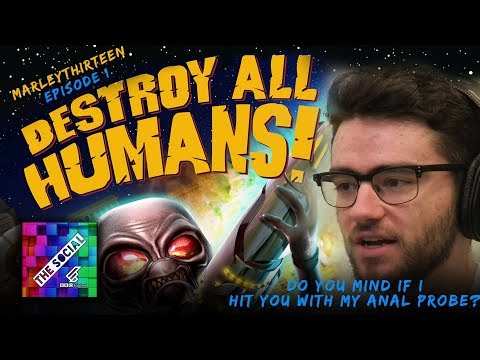 LET'S PLAY DESTROY ALL HUMANS PART 1 | Marley
