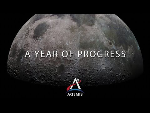 Artemis Update: A Year of Progress on Returning to the Moon - NASA