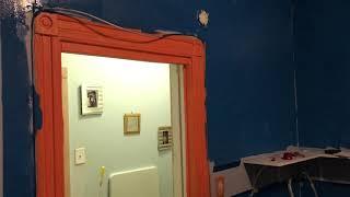 Tavian paints his room fc barcelona ...