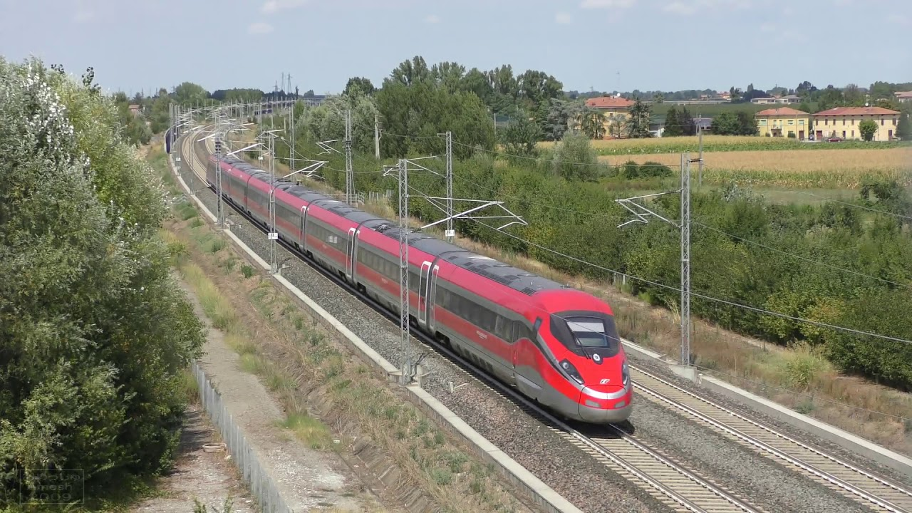 Italian high speed trains - YouTube