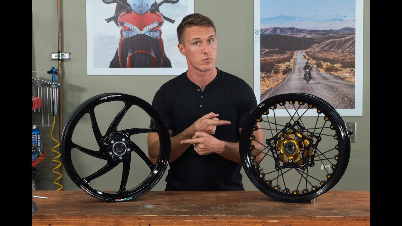 Wire-Spoked Wheels vs. Alloy Wheels—Which Are Better?  | MC Garage | Video