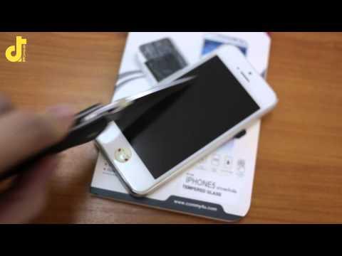 #MashReviews  รีวิวด่วน กระจกกันรอยมือถือ iPhone จาก Commy ของดีราคาถูก