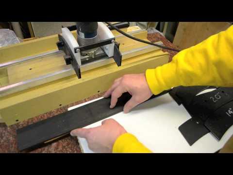 radius a fingerboard fretboard custom guitar building diy youtube. Black Bedroom Furniture Sets. Home Design Ideas