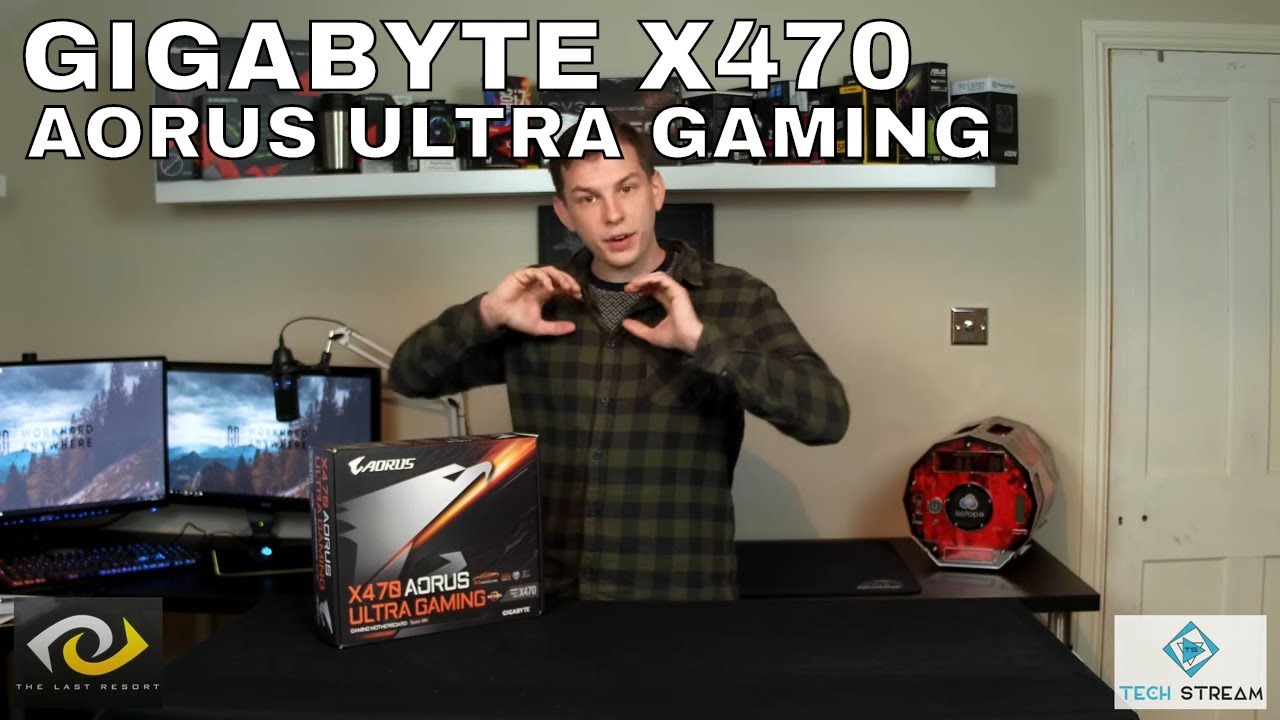 BEST BUDGET X470 MOTHERBOARD? - GIGABYTE X470 AORUS ULTRA GAMING UNBOXING
