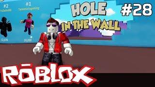 Roblox Po Polsku [#28] Hole in the Wall czyli Skok przez ŚCIANĘ