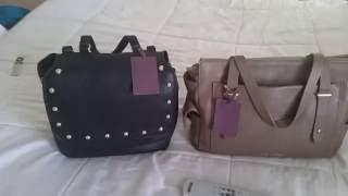 Mini Handbag Haul: Etienne Aigner