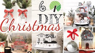 CHRISTMAS DOLLAR TREE FARMHOUSE DIY DECOR/ FARMHOUSE RUSTIC CHRISTMAS TREND 2019 diy DOLLAR STORE