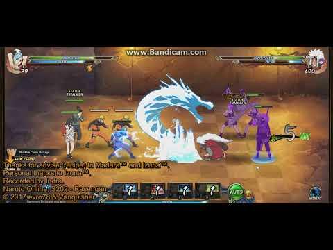 Naruto online 3 0 - Ninja Exam 101 - Water main (Azure Fang)