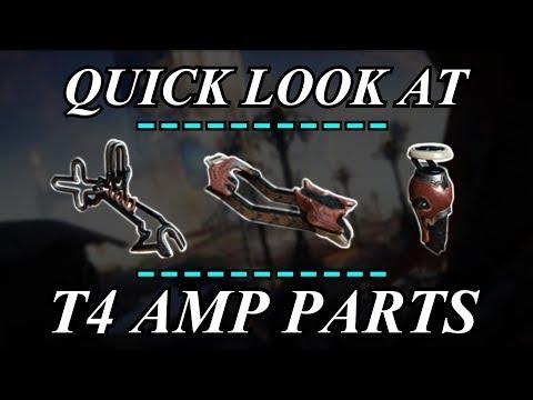 Warframe - Quick Look At: T4 AMP Parts thumbnail
