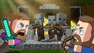 Raiding A Woodland Mansion! | Minecraft