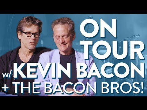 """Ep. 103 """"On Tour with Kevin Bacon  Bacon Bros.""""  Voice Lessons To The World"""