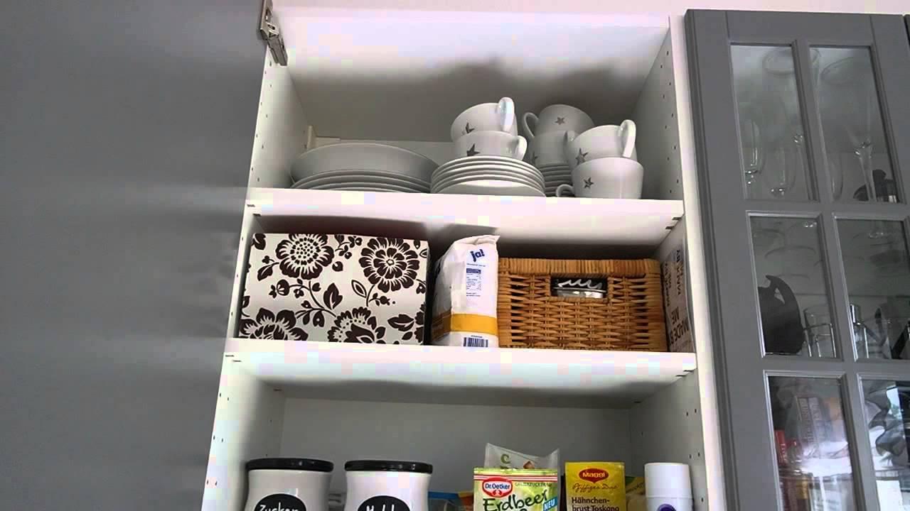 Ordnungstipps - Ein Blick in meine Küchenschränke
