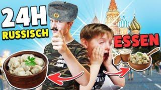 24h NUR RUSSISCH essen 🤣 KRASS TipTapTube