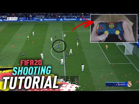 THE AMAZING HIDDEN SHOOTING TECHNIQUE IN FIFA 20 – DRIVEN FINESSE FINISHING TUTORIAL