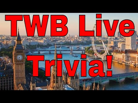 Travelling with Bruce Prime Time Live Tuesday Trivia!