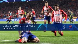 UEFA Champions League | Atlético Madrid vs Juventus | Highlights