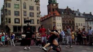 Dance groep in Kopenhaven