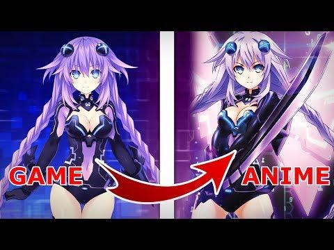 Game To Anime: Neptunia