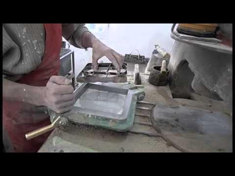 Производство цементной плитки  II Грета Вульф