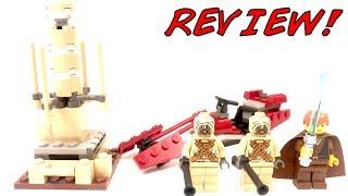 лего Звездные Войны 7113 Tusken Raider Encounter Обзор  Lego Star Wars System