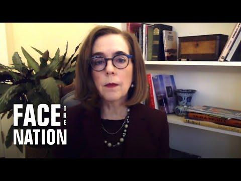 """Oregon Governor Kate Brown calls wildfires a """"wake-up call"""" on climate change"""