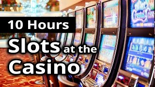 CASINO AMBIANCE: Slots, Poker & Gambling in LAS VEGAS - 10 HOURS - The Ultimate Ambiance!
