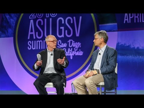 ASU GSV Summit: Fireside Chat with Ted Mitchell and Josh Lewis