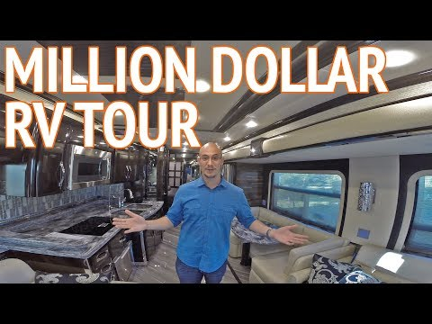 Motorhome volvo d13 500 hp prevost marathon 2017 doovi for Million dollar motor coaches