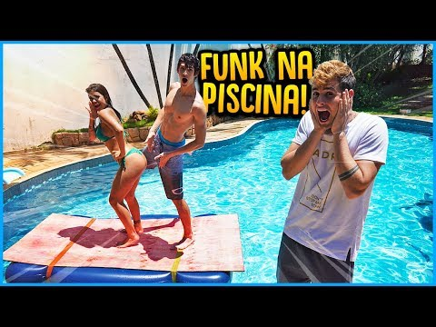 CRUSH VS CRUSH: FUNK NA PISCINA!! [ REZENDE EVIL ]
