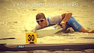 Canoe Sprint 5000 meters!