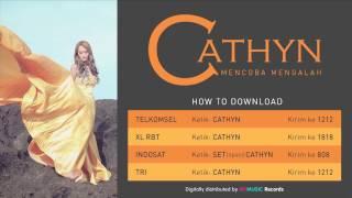 Cathyn - Mencoba Mengalah (Official Lyric Video)
