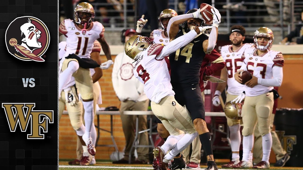 Florida State Vs Wake Forest Football Highlight 2019 Youtube