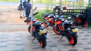 😍😍😍😆KTM DUKE 390 Delivery in KOTTAYAM _-_-_REDY- TO -RACE😈_-_-_15 NOV 2017