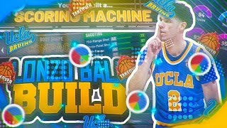 LONZO BALL'S BUILD IN NBA 2K20! Best playmaking defender build.