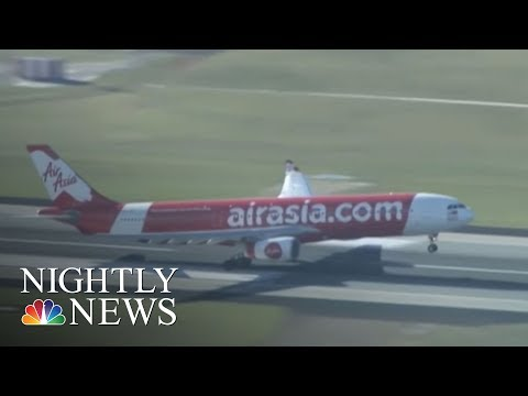 Air Asia Pilots Asks Passengers 'To Pray' During Wild Flight | NBC Nightly News
