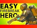 BLACK OPS 3 - HOW TO GET GOLD FIREBREAK HERO ARMOR