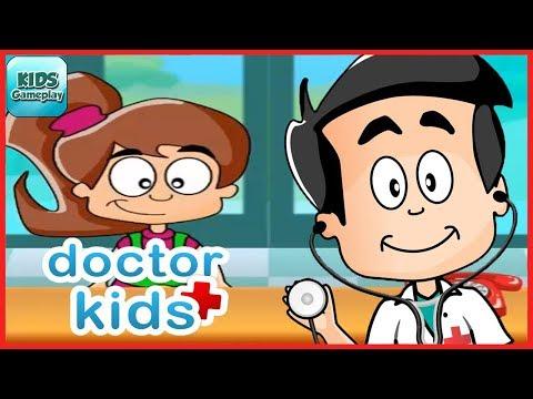 Doctor Kids Games - Cartoon Hospital Game by Bubadu - Educational Game for Children