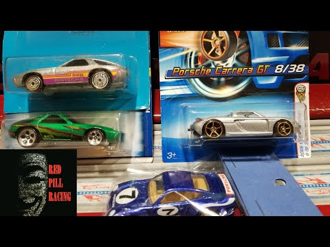 Hot Wheels Porsche Faster Than Ever Carrera, Ultra Hot 928 and 959