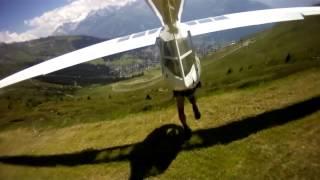 Красивый самолет-планер(без двигателя) Архиоптерикс